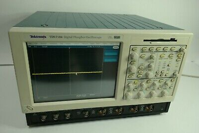 Tektronix Tds7104 Oscilloscope Digital 4 Channels 1ghz