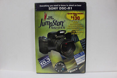 JumpStart Video Training Guide on DVD for the Sony DSC-R1 Digital Camera
