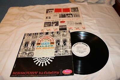 The Riverboat Five Promo LP with Original Record Company Sleeve-THE RIVERBOAT FI