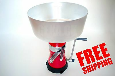 New Milk Cream Centrifugal Manually Separator Machine 80lh Worldwide