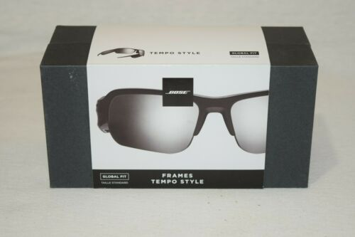 Bose Tempo Sports Bluetooth Audio Sunglass Frames with Polarized Lenses (Black)