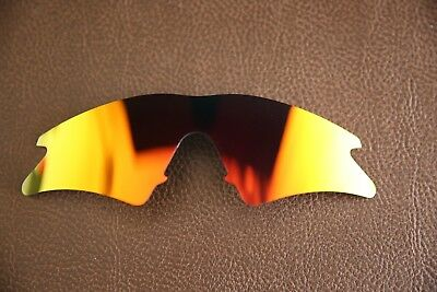 PolarLenz POLARIZED Red Fire Iridium Replacement Sweep Lenses for-Oakley M-Frame