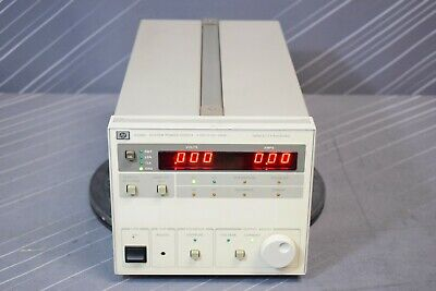Hp Agilent 6038a Dc Power Supply 60 V 10 A 240 W Programmable