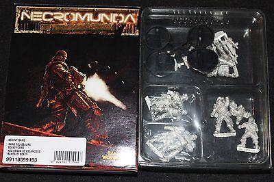 Games Workshop Necromunda Skavvy Gang Metal Figures New Boxed Fanatic Squad OOP