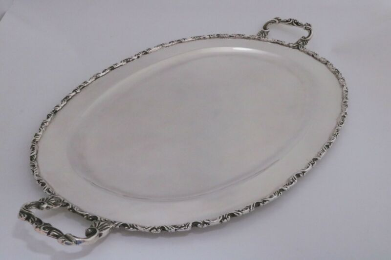 Mexico Sterling Silver Platter Tray