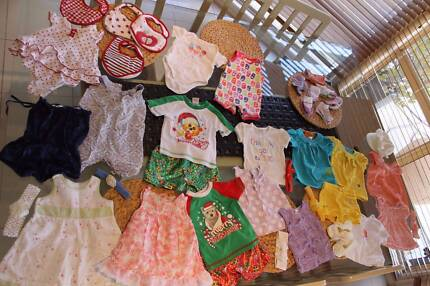 BABY CLOTHES GIRL 00/3-6mth COUNTRY RD NEXT GAGOUTAGOU SPROUT OSH