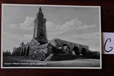 Postkarte Ansichtskarte Sachsen-Anhalt Kaiser-Wilhelm-Denkmal auf dem Kyffhäuser