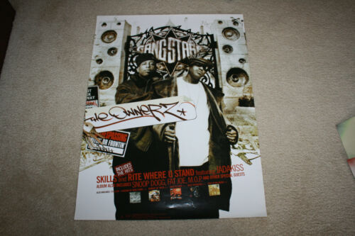 """Gangstarr The Ownerz 2003 Store Promo Poster 24"""" x 18"""" - R1216"""