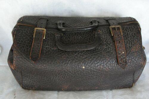 Antique Civil War Leather Doctors Bag and Medical Instruments