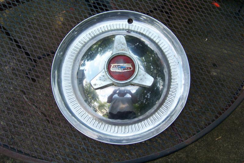 "VINTAGE CHEVROLET CHEVY SPINNER 15"" HUBCAP CLASSIC CAR  RAT ROD CUSTOM"