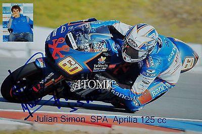 Signiertes Foto Julian Simon  SPA 13 x 18