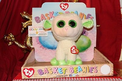 "TY BEANIE BOOS LALA THE LAMB.MEDIUM BEANIE BUDDY.10"".2015-MWNMT-NICE GIFT"