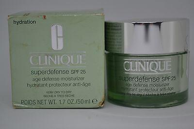 Clinique Superdefense SPF 25 Age Defense Moisturizer ~choose skin type (Clinique Superdefense Spf 25 Age Defense Moisturizer)