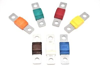 Midi Fuses 30A 40A 50A 60A 70A 80A 100A 40mm Length 32V Fuse Terminal Automotive