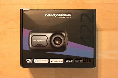 NEXTBASE 422GW Dashcam QHD, Full HD, 6.35 cm Display Touchscreen * NEU