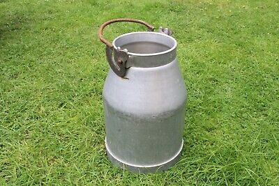 Milk Churn, French, Aluminium, Vase, Wedding, Storage. #1