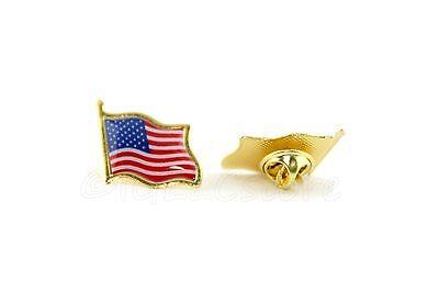 AMERICAN FLAG LAPEL PINS 0.75