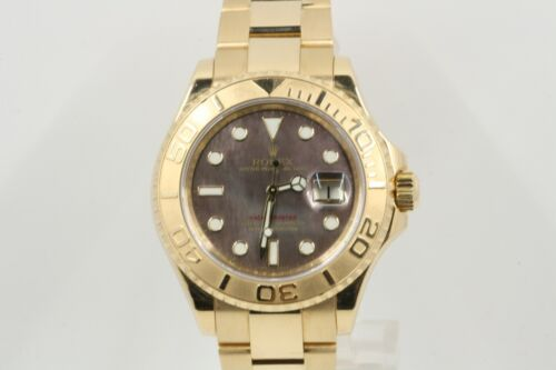 Rolex Yacht-master Model 16628 Dark Mother Of Pearl Dial 2007 Model