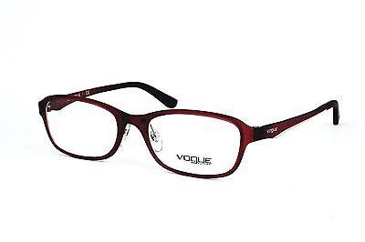 Vouge Damen Herren Brillenfassung VO2902 2247-S 52mm rot braun Vollrand 498 102