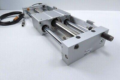Smc Cy1l25h-250b Rodless Cylinder W Position Sensor Shock Absorber