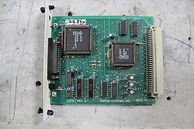 Triton Systems Cpu Controller Module Plc Ssp01 Rev. C 9600-2001