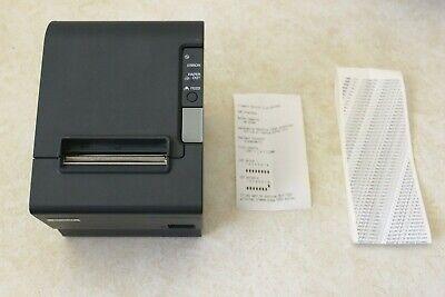 Epson Tm-t88iv Pos Usb Thermal Receipt Printer M129h