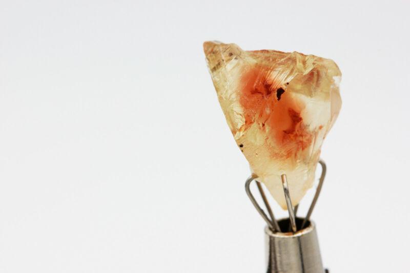 OREGON SUNSTONE Red - Facet Rough Gemstone - 7.85ct - 16mm