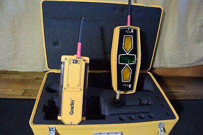 Trimble Spectra Precision Laser Receiver Set Gradio Rts2-5 Dr2-5  Never Used