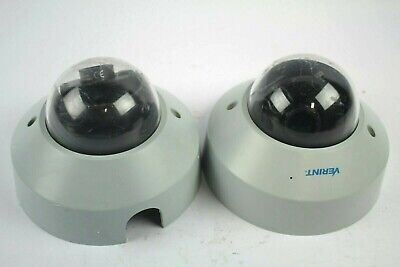 Verint S5120fd-dn Fixed Dome Security Camera Lot Of 2