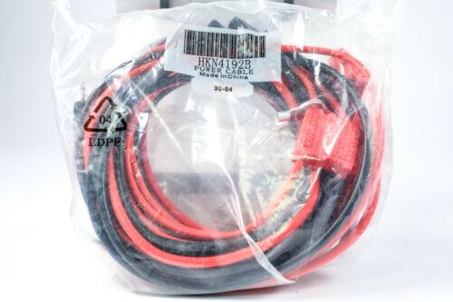 Motorola HKN4192B Power Cable for 45 watt Mobile Radios HKN4192 *New