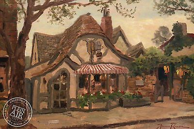 Tuck Box Tea Room - Tuck Box Tea Room, Carmel --- California --- Thomas Kinkade Dealer Postcard