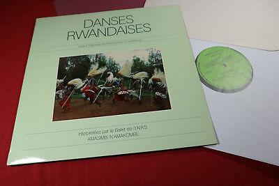Amasimbi N'Amakombe  DANSES RWANDAISES - LP Collection INRS LPS-02 sehr gut