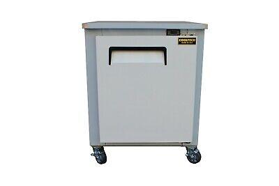 Cooltech Single Door Low Boy Worktop Undercounter Refrigerator Cooler 27