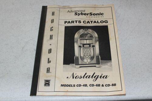 ROCK-OLA Model Advanced Sybersonic Parts Catalog - used