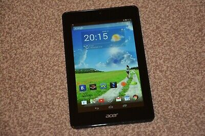 ACER Iconia One 7 B1-730HD Android Tablet  16GB HDD, 1GB RAM Black MINT