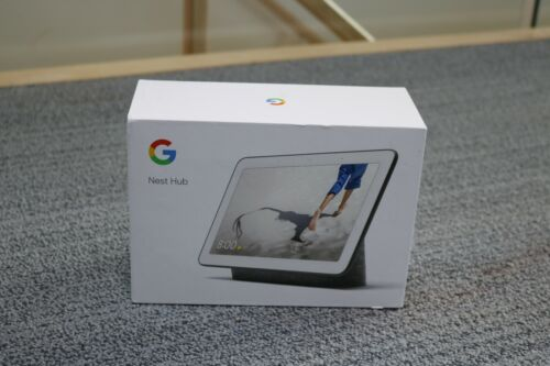 Google Nest Hub with Assistant GA00515-CA (Charcoal)