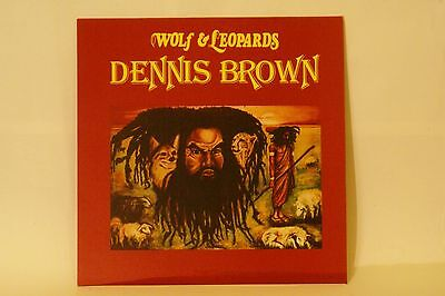 Dennis Brown -Wolf & Leopards Lp Vinyl !!!  DEB MUSIC !!! The classic roots  !!!