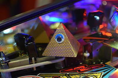 Twilight Zone Pinball Machine Lighted Pyramid Mod