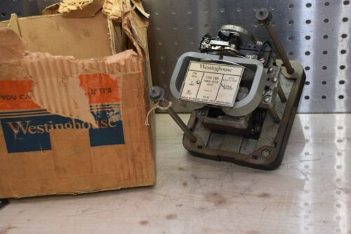 WESTINGHOUSE TYPE CWK 230V 5A 60 CY S.0.47C-472 AXI-44 POWER FACTOR RELAY NEW