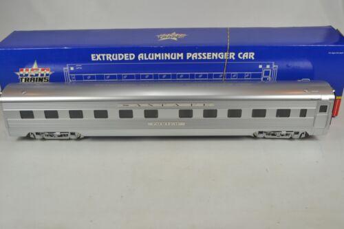 USA Trains G SCALE R-31004 Santa Fe SUPER CHIEF ALUMINUM SLEEPER, UNRUN-BOXED