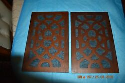 Side Access Wood Panels for modern type GRANDFATHER CLOCK Set of 2 for project
