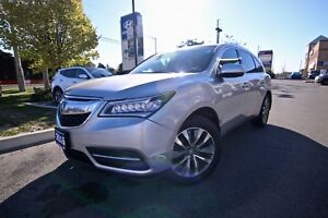 2015 Acura MDX 4DR SH-AWD NAVIGATION PACKAGE, ONE OWNER