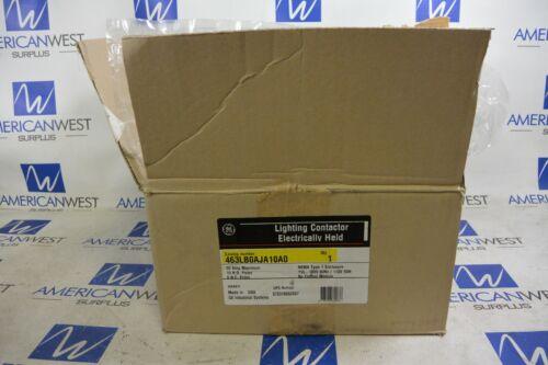 GE General Electric 463LB0AJA10A0 Lighting Contactor and Enclosure