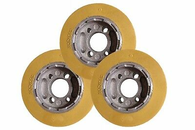 Ro08 Rubber Power Feeder Wheels Set Of 3 - 3-18