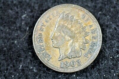 Estate Find 1903 - Indian Head Cent J01232 - $2.00