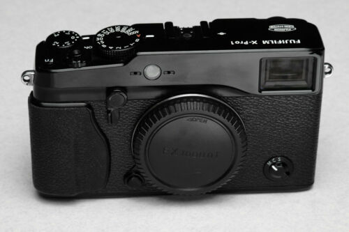 Fujifilm X Series X-Pro1 16.3MP Digital Camera - Black - Very Good Used