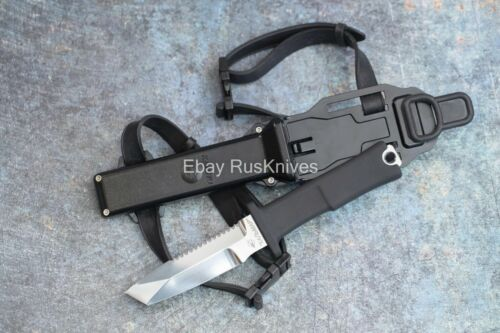 Russian professional knife for diving and rescuers - Kalmar (Squid)