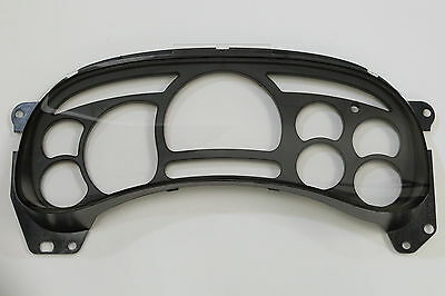 USED 03-06 GMC INSTRUMENT ODOMETER DASH CLUSTER COVER CLEAR PLASTIC LENS & TRIM