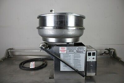 Gold Medal 2181er Pralinator Frosted Nut Machine Mixer Right Dump