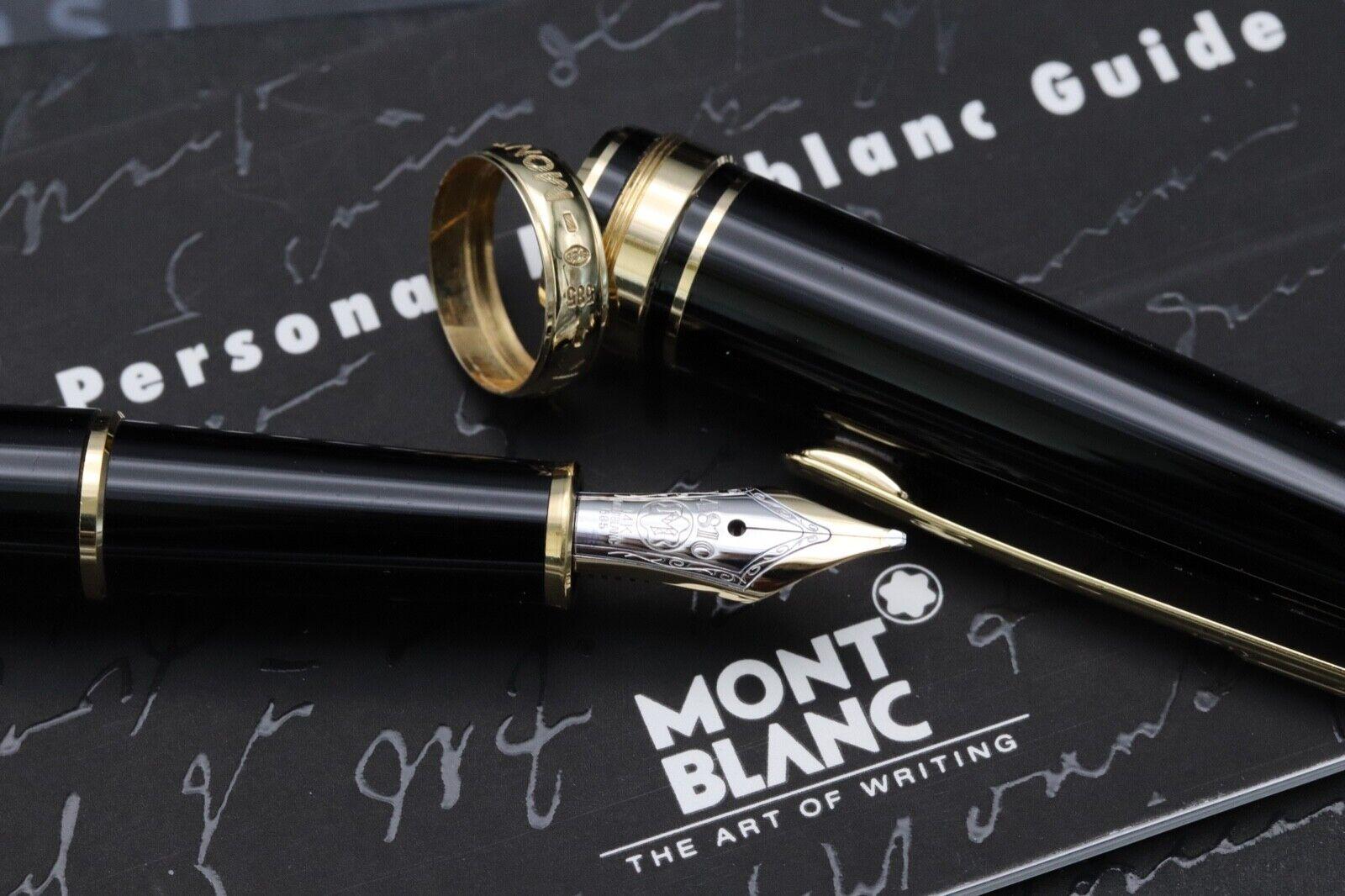 Montblanc Meisterstuck 144 Classique 'Wedding Pen' Fountain Pen 3